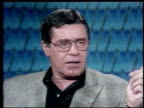 Interview with Jerry Lewis the actor promotes his film 'Slapstick of Another Kind' Jerry Lewis on Performing Without a Live Audience on March 27 1984...