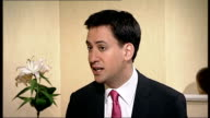 Interview with new Labour Party Leader Ed Miliband Ed Miliband interview SOT Darling's strategy is my starting point but I think we can do more on...