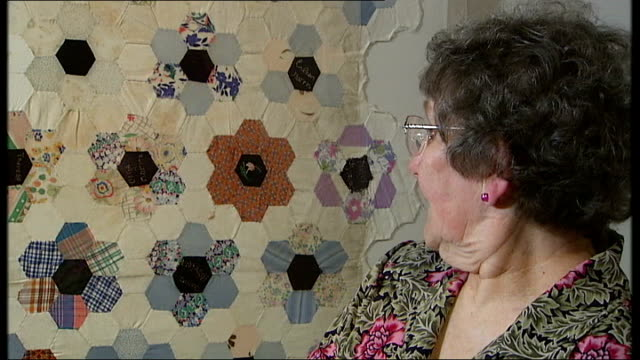 Interview with one of the creators of the Changi Quilts Henderson interview SOT Each of them did their own flower but also helped younger girls / Was...