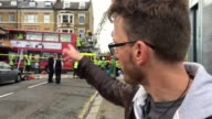 Interview with passenger Andrew Matthews who was on a bus which crashed into a shop in a busy London high street near Clapham Junction