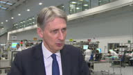 Interview with Philip Hammond MP Chancellor re the government's strategy for Industry and the importance of the Midlands on January 23 2017 in...