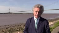 Interview with Roger Bowdler Director of Listings for Historic England opposite the Humber Bridge on the day it was awarded listed status He explains...
