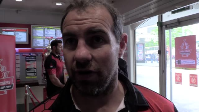 Interview with Salford Red Devils coach Ian Watson ahead of the Rugby League Challenge Cup quarterfinal against Wakefield
