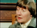 ROBERT ENGLAND London Shirley Williams MP interview SOF 'The problem get on with the job' EKTA 16mm ITN 147 mins 67 ft NAT