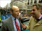 Interview with Sir Clive Woodward TX London Austin interviewing Sir Clive Woodward SOT proud to see this it's wonderful