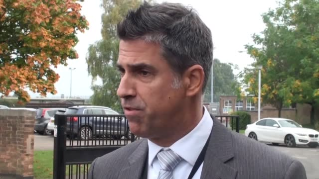 Interview with the headteacher of Winterton Community Academy Gareth Morris after a 16yearold female student stabbed a school welfare officer