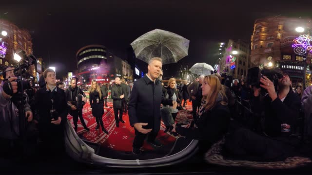VR interview with Will Ferrell star of 'Daddy's Home 2' at the film's premiere in Leicester Square