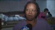 KTLA Interview with Woman At Evacuation Center After Hurricane Harvey Hurricane Harvey Floods Evacuee Shelter in Richmond Gallery Furniture Grand...