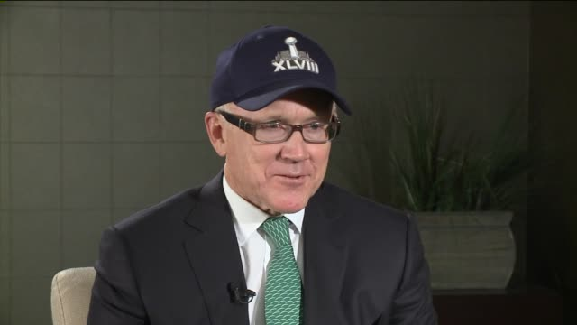 WPIX Interview with Woody Johnson Owner of the New York Jets on in New York City