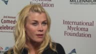 Alison Sweeney on the event giving back at the International Myeloma Foundation's 3rd Annual Comedy Celebration at Los Angeles CA