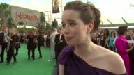 Anna Popplewell on how she has bitter sweet feelings about not being in the next Narnia film at the Prince Caspian European Premiere at London