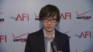 Asa Butterfield on what it was like working with Martin Scorsese and on the AFI Awards at AFI Awards 2012 Luncheon in Beverly Hills CA on 1/13/12