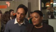 Danny Pudi and Yvette Nicole Brown on being here on Community being picked up on the World Cup at the PUMA Presents The African Bazaar at Los Angeles...