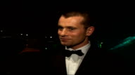 Interviews with celebrities attending Emeralds Ivy Ball Shay Given interview SOT On how he's good friends with Ronan and how they work for cancer...