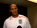 Interviews with Marvin Allen and Jason Taylor of the Miami Dolphins Jason Taylor interview SOT On just getting into England / On history of Wembley...
