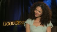 Thandie Newton on working with Tyler Perry at the 'Good Deeds' Junket in Hollywood CA 02/13/12
