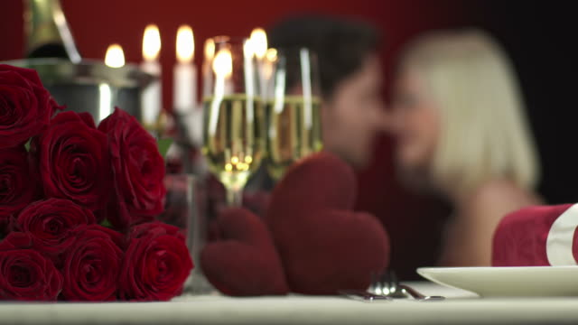 HD: Intimate Couple On Valentine's Day