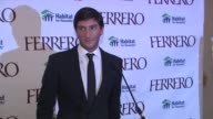 Introduction of Evan Lysacek at the Ferrero Chocolates and Evan Lysacek Fashion Event at New York NY