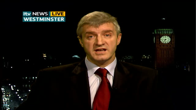 ITN investigation into aftereffects of fighting on soldiers LOGO London GIR Derek Twigg MP LIVE 2WAY interview from Westminster SOT On quality of...