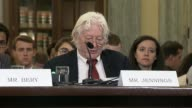 Investigative journalist Andrew Jennings criticizes absence of key soccer official at Senate oversight hearing