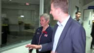 RAF paramedic competes in rowing event CANADA Toronto INT Sign for Invictus Games Toronto 2017 PULL OUT ITN Reporter and Michelle Partington towards...
