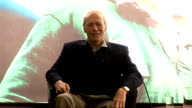 'Invictus' UK film premiere Eastwood Freeman and Damon press conference Eastwood asked question by a Finnish man about his connection to the 'Wild...