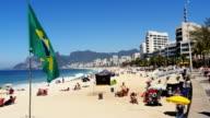 Strand von Ipanema in Rio de Janeiro