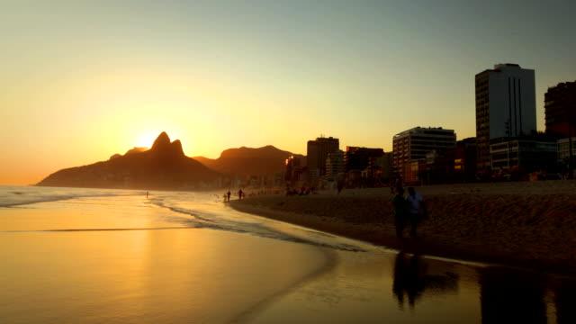 Strand von Ipanema, Rio de Janeiro, Brasilien