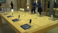 iPhone 5 Launch at Apple store Covent Garden on September 21 2012 in London England