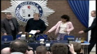 Police narrow list of suspects / Tania Nicol's parents' press conference ENGLAND Suffolk Ipswich PHOTOGRAPHY * * Jim Duell and Kerry Nicol along to...