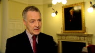 Iran threatens to close Strait of Hormuz after diplomatic row with EU ENGLAND London INT Professor Michael Clarke interview SOT Diplomatic incident...