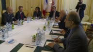 Irans Mohammad Javad Zarif and Frances Laurent Fabius hold meetings in Vienna as top diplomats try to seal a nuclear deal with Iran