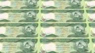iraqi dinar printing - animation