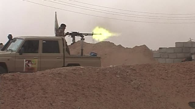 Iraqi forces and militias were still fighting Islamic State jihadists in al Baaj South West of Baiji near the largest refinery in Iraq on Wednesday