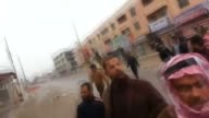Iraqi government forces interfere tribesmen during a protest against government of Nouri alMaliki in Anbar province's capital Ramadi on December 30...