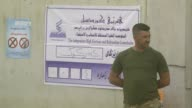 Iraqi Kurdish voters cast their ballots in the Kurdish independence referendum at a polling station in Kirkuk on September 25 2017 Voting began early...