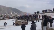 Iraqi Kurds took part over the weekend in the Kurdistan ice and snow festival held in the Kudu Mountain near the IraqIran border town of Haj Omran in...