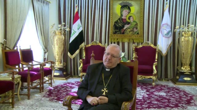 Iraqs Chaldean Patriarch Louis Sako is urging Christians to stay in the country despite the spike in violence CLEAN Iraq Christian Patriarch heads to...