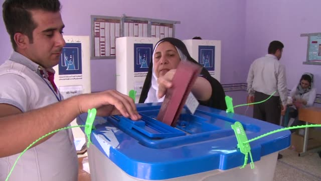 Iraq's Kurds voted Saturday in their first election in four years as their autonomous region grapples with disputes with Baghdad while fellow Kurds...