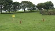 Ireland disk golf course zoom in