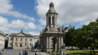 Ireland Dublin Trinity College bell tower view