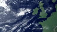 Irlanda viene visualizzato dopo terra zoom (con alfa opaco)