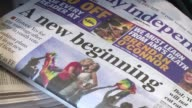 Ireland's newspapers said Sunday that the country had dramatically changed and confirmed its emergence from the shadow of the traditionally powerful...