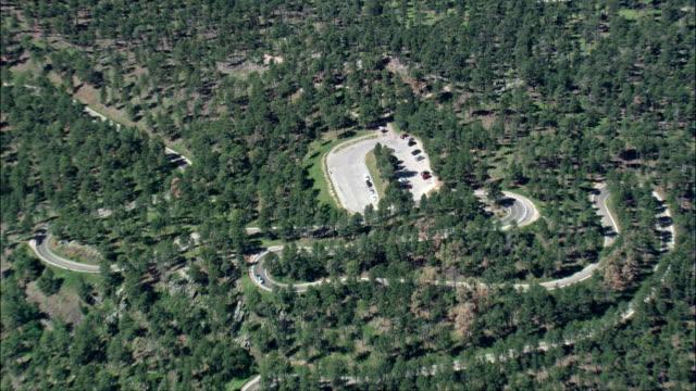 Iron Mountain Road  - Aerial View - South Dakota,  Pennington County,  United States