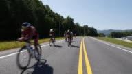 Ironman 70.3 men bike race in Chattanooga, TN
