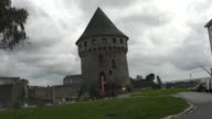 Is on a rocky motte beside the Penfeld river in Brest France Probably built during the Breton War of Succession it faces the château de Brest and is...
