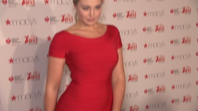 Iskra Lawrence at The American Heart Association's Go Red For Women Red Dress Collection 2017 Presented By Macy's at Hammerstein Ballroom on February...