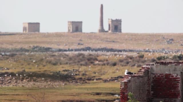Isla de Flores crematorium and cemetery, island near Montevideo, Uruguay