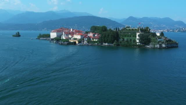 Island in Italian Lake