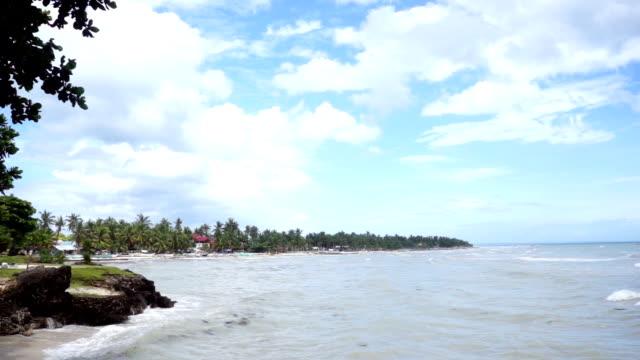 Island on a sunny day